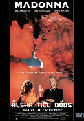 Body of Evidence 1992 poster Madonna Uli Edel