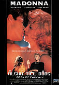 Body of Evidence 1993 Movie poster Madonna Uli Edel