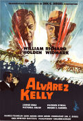 Alvarez Kelly 1966 Movie poster William Holden