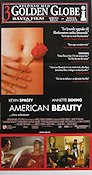 American Beauty 1999 Movie poster Kevin Spacey Sam Mendes