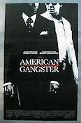 American Gangster 2007 Movie poster Russell Crowe Ridley Scott