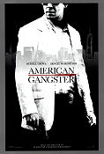 American Gangster 2007 Movie poster Russell Crowe