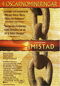 Amistad 1997 Movie poster Morgan Freeman Steven Spielberg