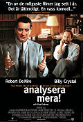 Analyze This 1999 Movie poster Robert De Niro Harold Ramis