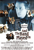 And the Band Played On 1993 poster Alan Alda