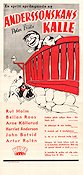 Anderssonskans Kalle 1950 Movie poster Peter Blitz