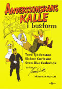 Anderssonskans Kalle i busform 1973 Movie poster Sickan Carlsson