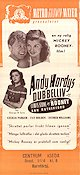 Andy Hardy´s Double Life 1944 poster Mickey Rooney