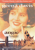 Angie 1994 Movie poster Geena Davis