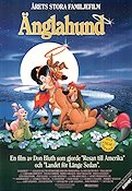 Änglahund 1990 poster Don Bluth