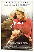 Anna 1987 Movie poster Sally Kirkland