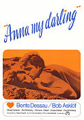 Anna my darling 1967 Movie poster Bente Dessau
