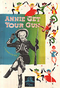 Annie Get Your Gun 1950 poster Betty Hutton