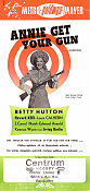 Annie Get Your Gun 1950 poster Betty Hutton George Sidney