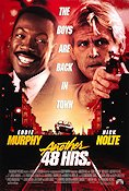 Another 48 Hours 1990 Movie poster Eddie Murphy