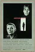 Another Woman 1988 Movie poster Mia Farrow