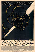 The Face in the Dark 1918 poster Mae Marsh Hobart Henley