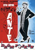 Ante Dr�mpojken 1964 Movie poster Stig Grybe