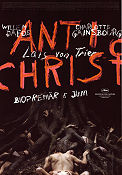 Antichrist 2009 Movie poster Willem Dafoe Lars von Trier