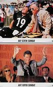 Any Given Sunday 1999 Lobby card set Al Pacino Oliver Stone