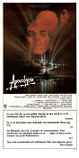 Apocalypse Now 1979 Movie poster Marlon Brando Francis Ford Coppola