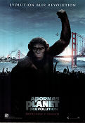 Dawn of the Planet of the Apes/9br 2014 poster Gary Oldman Matt Reeves