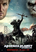 Dawn of the Planet of the Apes 2014 poster Gary Oldman Matt Reeves