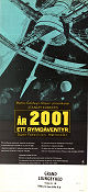 2001 A Space Odyssey 1968 poster Keir Dullea Stanley Kubrick