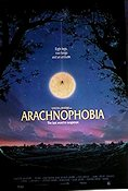 Arachnophobia 1991 Movie poster Jeff Daniels