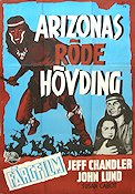 The Battle at Apache Pass 1953 poster Jeff Chandler