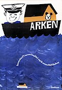 Arken 1965 Movie poster Rolf Husberg