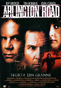 Arlington Road 1999 poster Jeff Bridges Mark Pellington