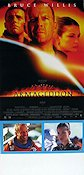 Armageddon 1998 Movie poster Bruce Willis