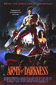 Army of Darkness Evil Dead 3 1992 poster Bruce Campbell