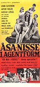 �sa-Nisse i agentform 1967 Movie poster John Elfstr�m