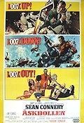 Thunderball 1965 poster Sean Connery Terence Young