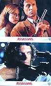 Assassins 1995 lobby card set Sylvester Stallone