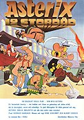 Les douze travaux d'Asterix 1976 Movie poster Asterix
