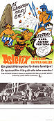 Asterix och hans tappra Galler 1972 Movie poster Asterix