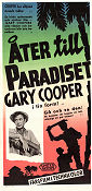 Return to Paradise 1953 poster Gary Cooper Mark Robson