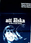 Att älska 1964 Movie poster Harriet Andersson Jörn Donner