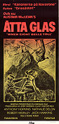 When Eight Bells Toll 1971 poster Anthony Hopkins Etienne Périer