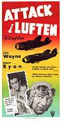 Flying Leathernecks 1952 Movie poster John Wayne