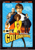 Austin Powers in Goldmember 2002 poster Mike Myers