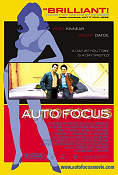 Auto Focus 2002 Movie poster Greg Kinnear Paul Schrader