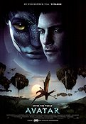 Avatar 2009 Movie poster Sam Worthington James Cameron