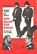 Even Angels Eat Beans 1975 poster Giuliano Gemma E B Clucher
