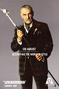 The Avengers 1998 Movie poster Sean Connery
