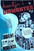 Adventure in Diamonds 1940 Movie poster George Brent