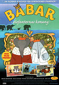 Babar King of the Elephants 1999 Movie poster